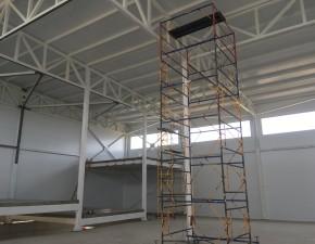 Строительство складского помещения