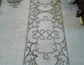 Фигурная резка декоративной панели