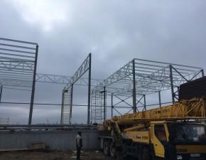 Начальный этап строительства