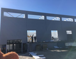 Ход строительства склада