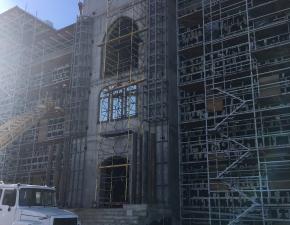 Строительство здания из сэндвич панелей
